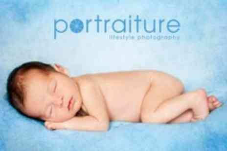 Portraiture - Family or Baby Photoshoot With Framed Print - Save 93%