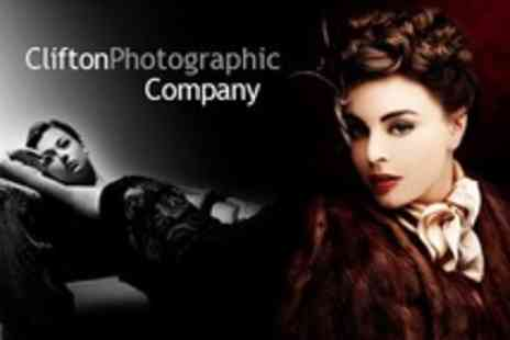 Clifton Photographic Company - VIP, Vintage or Boudoir Makeover Photoshoot For One - Save 83%