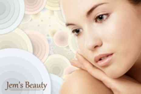 Jem's Beauty - Luxury Facial With Warming Wax Treatment  Plus Eyebrow Shape - Save 71%