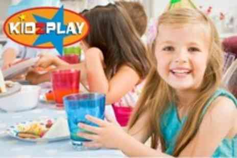 Kidzplay - Children s Party With Host, Buffet, and Goodie Bags - Save 66%