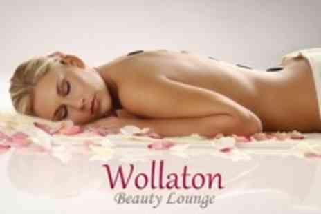 Wollaton Beauty Lounge - One Hour Full Body Hot Stone or Swedish Massage  With Hopi Ear Candles - Save 62%