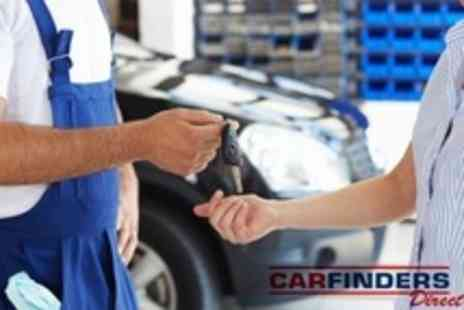 Carfinders Direct - Full Vehicle Service With 60-Point Check Plus Oil and Filter Change - Save 82%