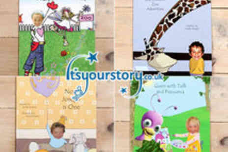 Its Your Story - Fantastic range of Personalised Kids Books - Save 55%