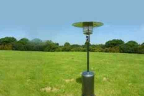 Garden Games - Gas Patio Heater and Cover with Optional Regulator 13kw - Save 68%