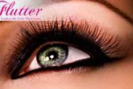 Flutter Lashes - Semi Permanent Eyelash Extensions with up to 80 lashes - Save 72%