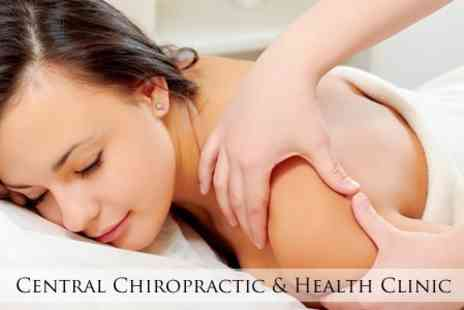 Central Chiropractic & Health Clinic - Choice of One Hour Full Body Massage - Save 63%