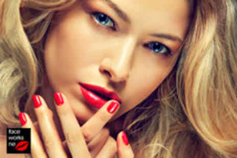 Faceworks NE - Luxury manicure and pedicure and nurture nails - Save 74%