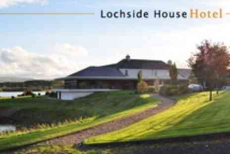Lochside House Hotel - One Night Stay For Two With Two Course Dinner, Bottle of Sparkling Wine and Spa Access - Save 57%