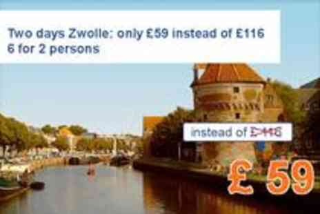 Campanile Hotel Zwolle - Two days Zwolle for 2 persons - Save 49%