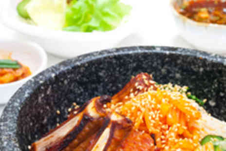 Mannaza Korean Restaurant - Korean Meal for Two with Wine - Save 56%