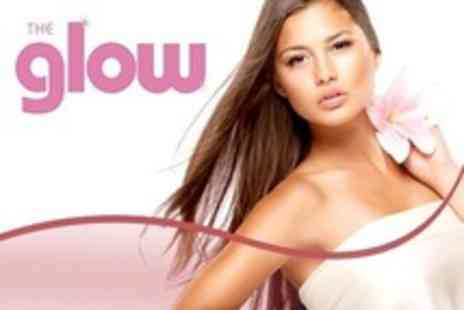 The Glow - Full Head Colour or Half Head Highlights Plus Cut - Save 73%