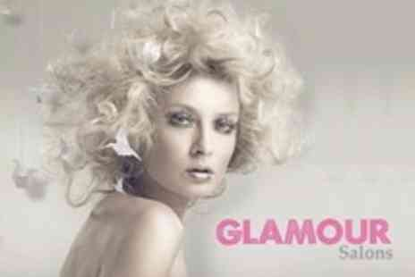 Glamour Salons - Cut Restyle Finish and L Oreal Condition Plus Highlights or Colour - Save 53%