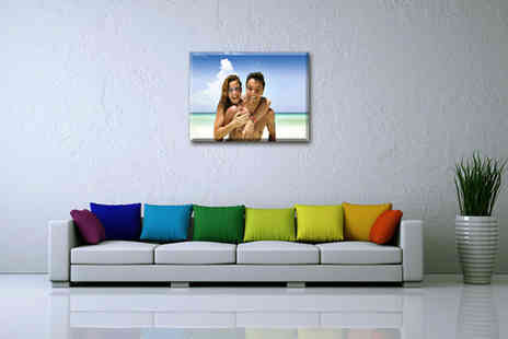 My Image World - Personalised canvas print - Save 81%
