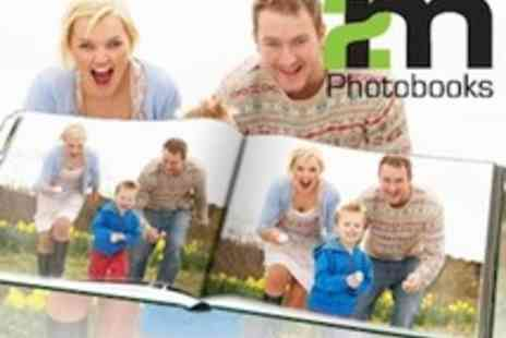 2 M Print - 50 page personalised A4 landscape hardback photobook - Save 73%
