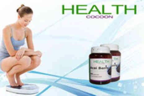 Health Cocoon - Health Cocoon Course of 60 Acai Berry Capsules - Save 72%