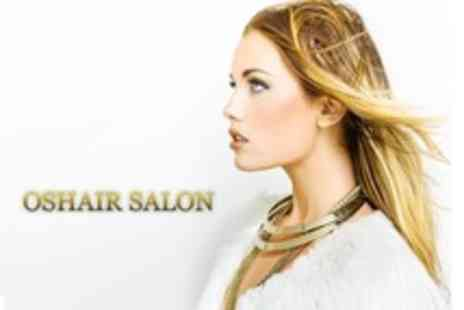 Oshair Hair - Half Head Highlights With Cut, Blow Dry and Conditioning Treatment - Save 61%