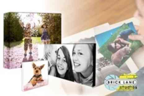Brick Lane Studios - Custom Printed Canvas in Choice of Size - Save 10%