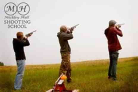 Mickley Hall Shooting School - Two Hours of Clay Pigeon Shooting For One Plus 12 Month Membership - Save 63%