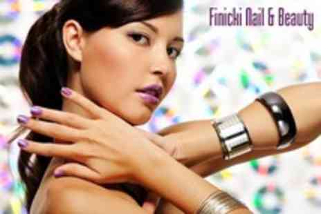 Finicki Nail - French Gel Polish Manicure or Pedicure - Save 52%