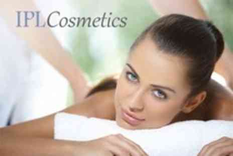 IPL Cosmetics - One Hour Full Body Massage and Essential Facial - Save 68%