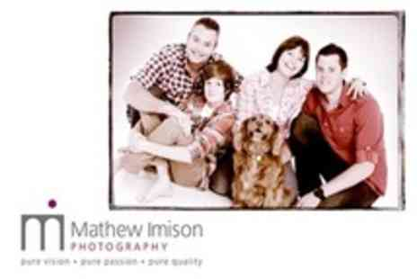 Mathew Imison Photography - Family Photoshoot Plus Framed Portrait - Save 91%