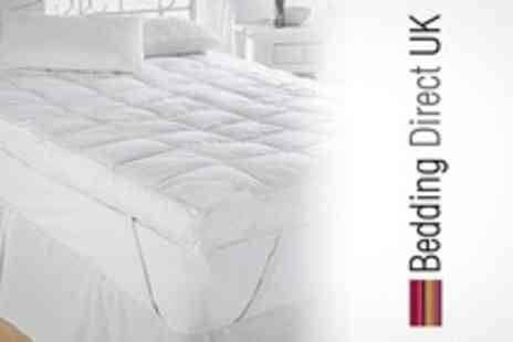 Bedding Direct UK - Single Duck Feather Mattress Topper - Save 60%