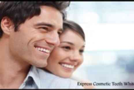 Express Cosmetic Teeth Whitening - 60 Minute Teeth Whitening Treatment - Save 83%