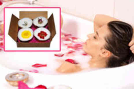 Health Cocoon - 4 Luxury Homemade Shea and Cocoa Butter Bath Melts - Save 82%