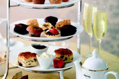 Cafe Ocho - Afternoon Tea for Two With Glass of Cava Each - Save 60%