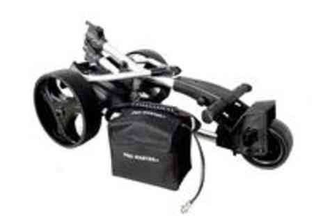 Guaranteed4less.com - Promaster Plus folding electric golf trolley - Save 51%