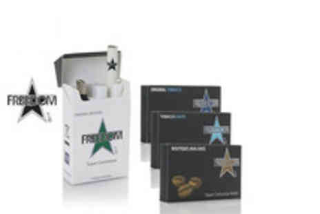 Freedom - An eCigarette bundle including refills equivalent to approximately 280 cigarettes - Save 75%