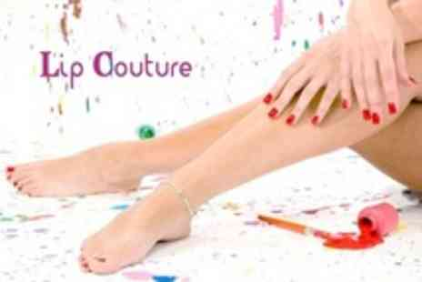 Lip Couture - Shellac Manicure and Pedicure - Save 60%