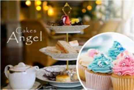 Angel Cakes - Three Hour Cupcake Decorating Class Including Afternoon Tea and Cupcakes to Take Home - Save 69%