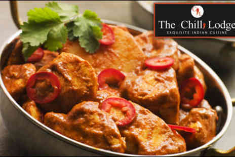 The Chilli Lodge - Three-course meal for two - Save 60%