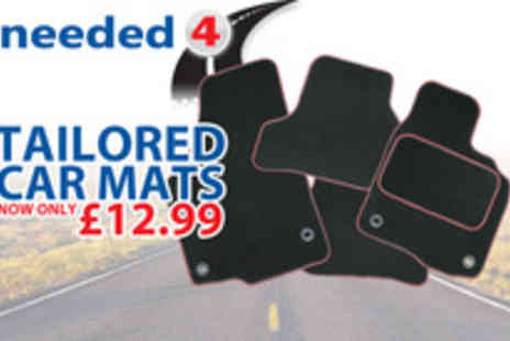 Needed4.com - A complete set of tailored car mats - Save 50%