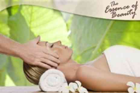 The Essence of Beauty - Spa Day For One With Three Treatments Such as Facial or Massage - Save 11%