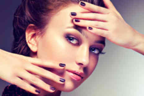 Cruz Hair and Beauty - 30 minute manicure with Shellac gel overlays plus a glass of bubbly on arrival - Save 52%
