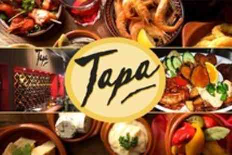 Tapa - Tapas For Two With Cava and Dessert - Save 62%