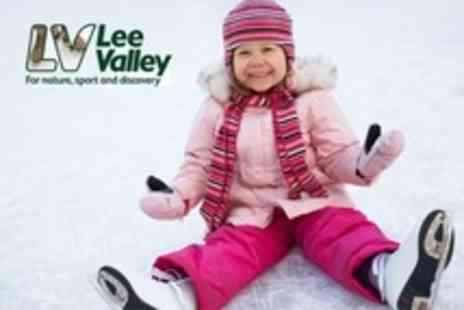 Lee Valley Ice Centre - Ice Skating For Two - Save 58%