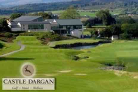 Castle Dargan Golf Hotel - One Night Stay For Two With Golf - Save 54%