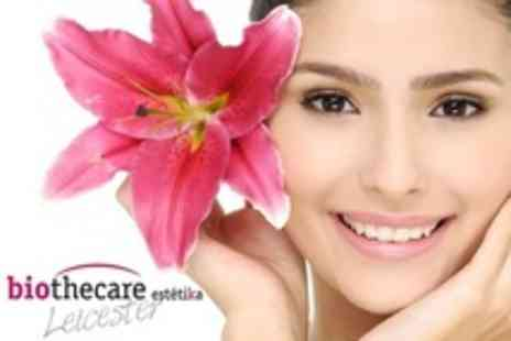 Biothecare Estetika Leicester - Gelicure Nubar Nails and Microdermabrasion Facial - Save 60%