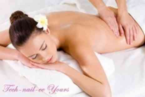 Tech Nail ee Yours - Full Body Massage - Save 66%
