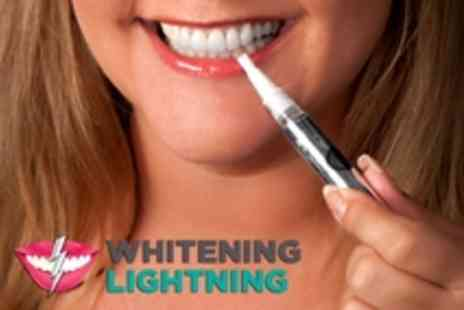 Whitening Lightning - Two Hollywood favorite Super Booster Teeth Whitening Pen - Save 80%