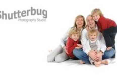 Shutter Bug Photography - Fun Filled Family Photoshoot plus 2 Prints - Save 67%