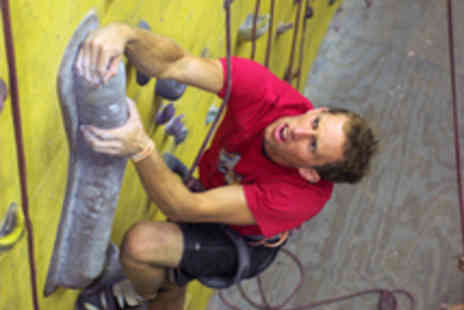 Undercover Rock - Indoor Climbing Introduction for Adult and Child - Save 55%