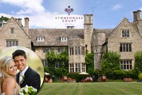 Stonehouse Court Hotel - Wedding Package With Four Course Wedding Breakfast, Drinks and Evening Reception - Save 64%