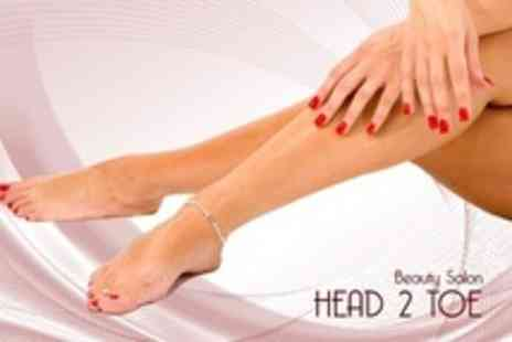 Head 2 Toe - Gel Polish Manicure or Pedicure - Save 67%