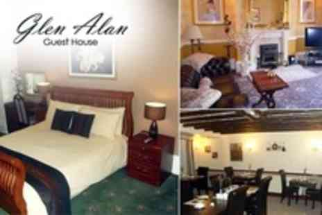 Glen Alan Guest House - Two Night Stay For Two With Wine and Chocolates Plus Breakfast in Bridlington - Save 44%