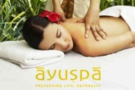 Ayuspa - Full Body Ayurvedic Massage With Consultation and One Month of Herbal Supplements - Save 60%