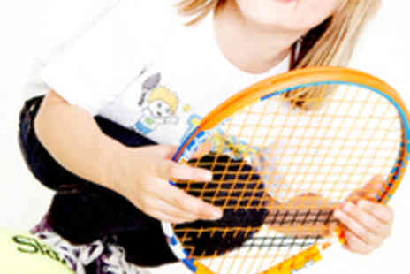 Tennis Tots - Tennis Party for up to 20 Children - Save 51%